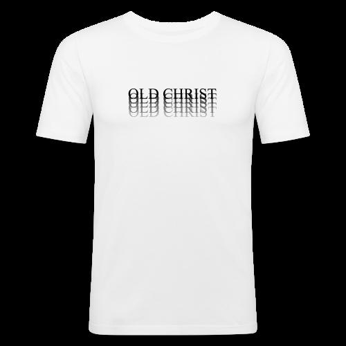 OLD CHRIST FADE LOGO - Men's Slim Fit T-Shirt