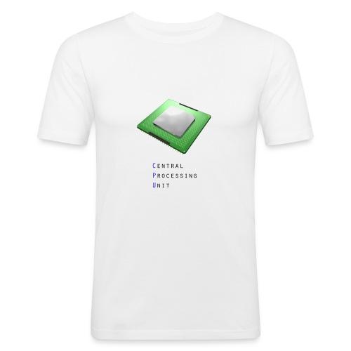 CPU - Central Processing Unit - Männer Slim Fit T-Shirt
