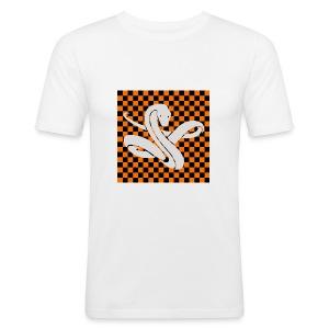 Wavy snake - slim fit T-shirt
