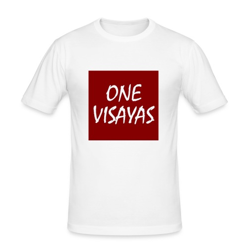 ONEVisayas Logo - Men's Slim Fit T-Shirt