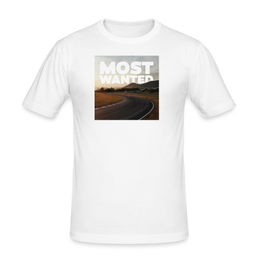 MOST WANTED - Männer Slim Fit T-Shirt