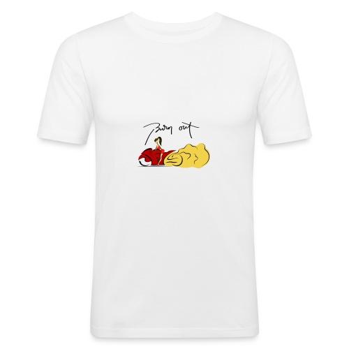 Moto Burn Out - Maglietta aderente da uomo