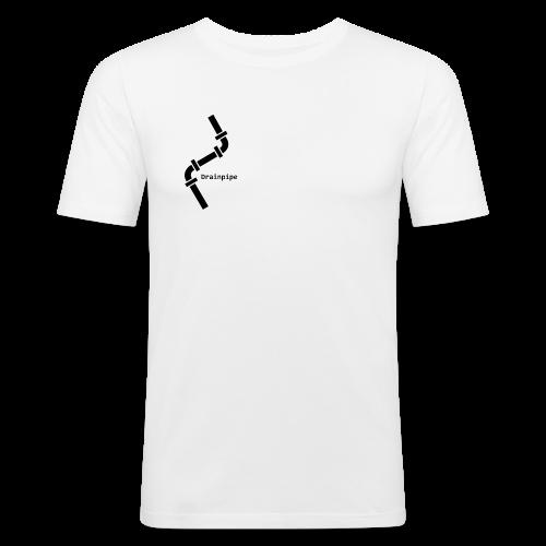 Drainpipe Logo - Men's Slim Fit T-Shirt