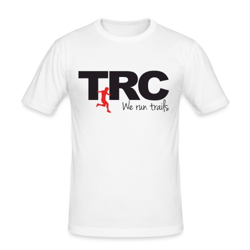 Trailman Running Club Cotton Shirts - Herre Slim Fit T-Shirt