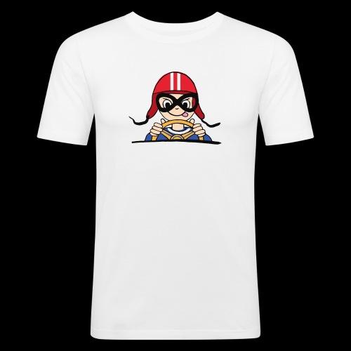 Rennfahrer - Männer Slim Fit T-Shirt
