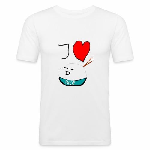 I Love Rice T-Shirt - slim fit T-shirt