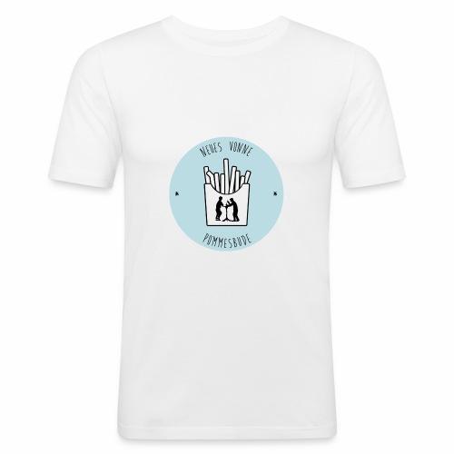 Neues vonne Pommesbude - Männer Slim Fit T-Shirt