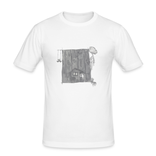 greyhouse - Männer Slim Fit T-Shirt