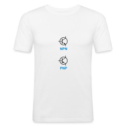 Transistoren (NPN & PNP) - Männer Slim Fit T-Shirt