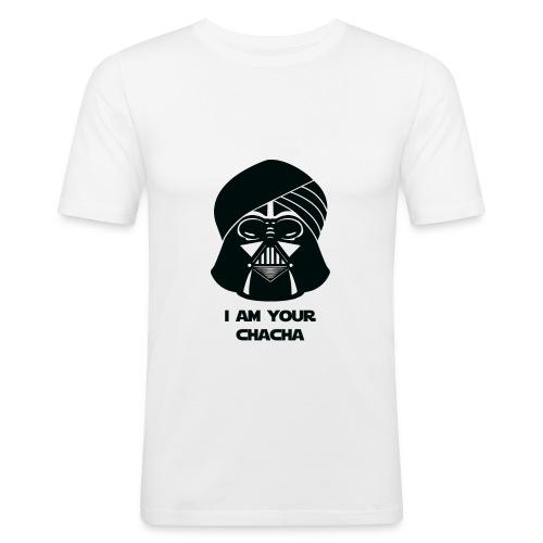 chacha_tshirt-01 - Men's Slim Fit T-Shirt