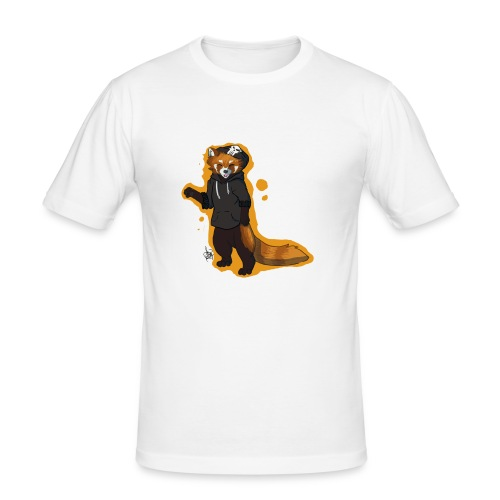 Red Panda Disign - Männer Slim Fit T-Shirt