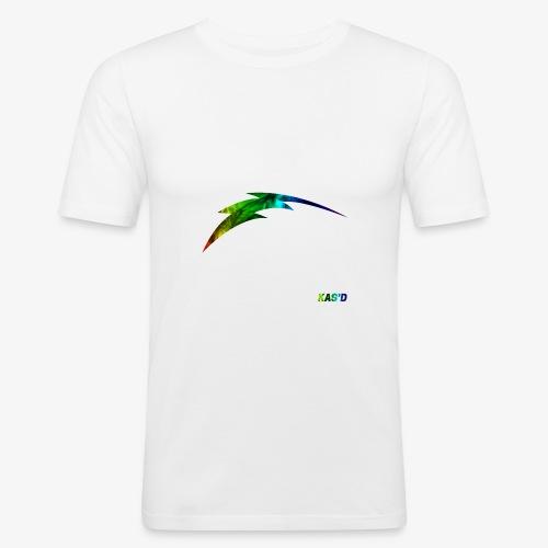 Kas'D   Marble Fade - T-shirt près du corps Homme