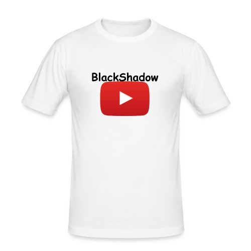 BlackShadow-Youtube - Männer Slim Fit T-Shirt