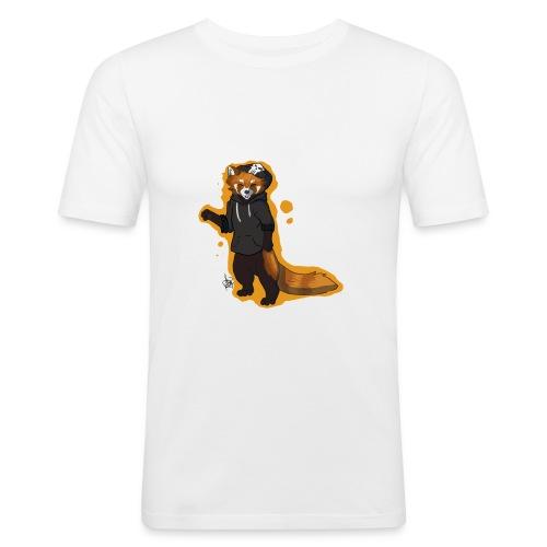 Red Panda Disign - Männer Slim Fit T-Shirt
