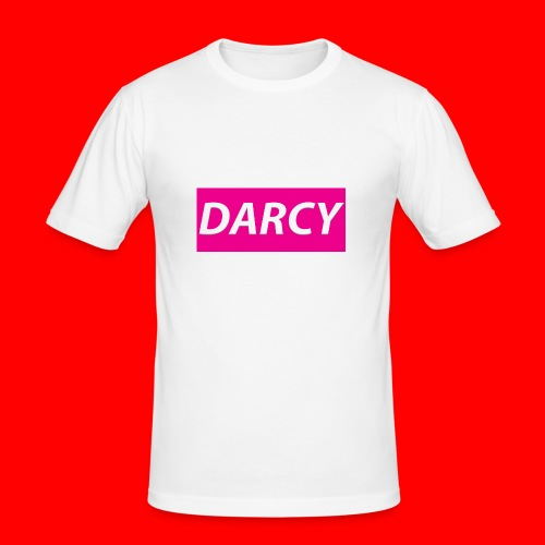 DARCYWpink - Men's Slim Fit T-Shirt