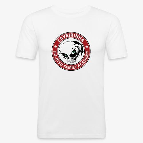 Logo Caveirinha transparent - Männer Slim Fit T-Shirt