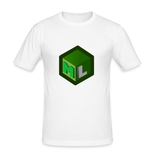 Logo ML - Men's Slim Fit T-Shirt