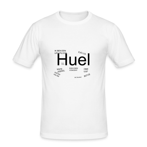 HUEL - slim fit T-shirt