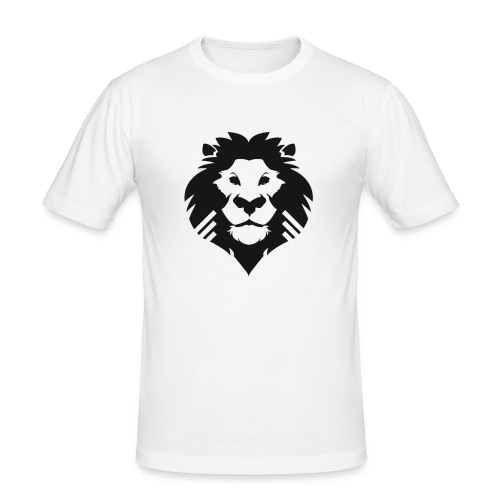 PM Logo - Men's Slim Fit T-Shirt
