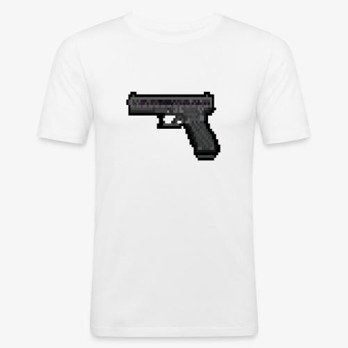 GLOCK PixelArt - T-shirt près du corps Homme