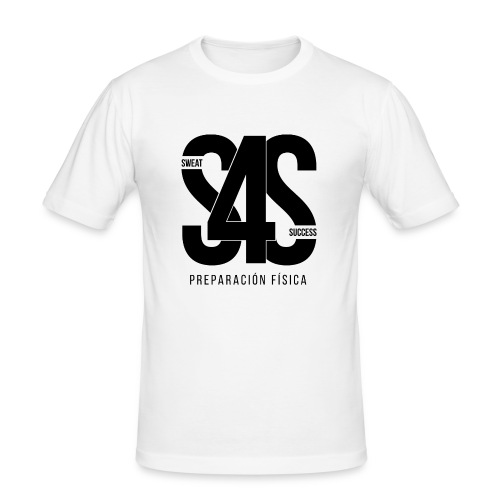 Logo Iniciales Sweat4Success - Camiseta ajustada hombre