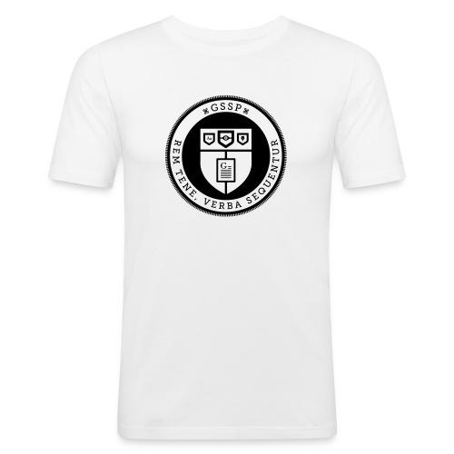 Gruppo di Supporto Scrittori Pigri - Maglietta aderente da uomo
