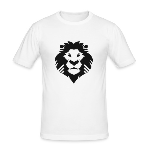 PM Logo - Men's Slim Fit T-Shirt