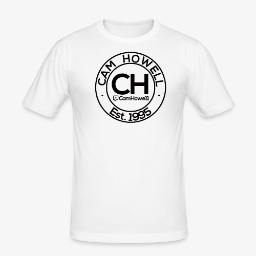 CH Twitch Logo. - Men's Slim Fit T-Shirt