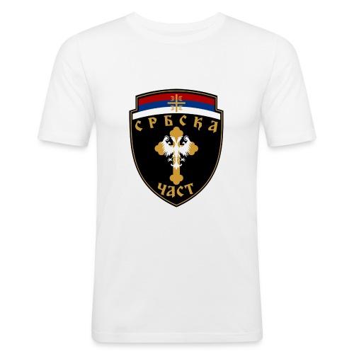 serbisk trøje - Herre Slim Fit T-Shirt