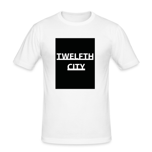 Twelfth City Black - Men's Slim Fit T-Shirt