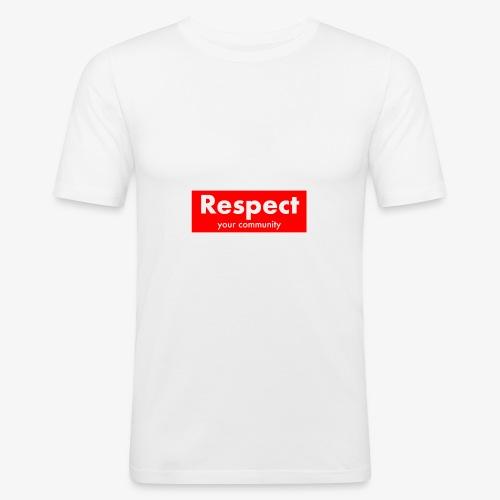 upmost Respect! - Men's Slim Fit T-Shirt