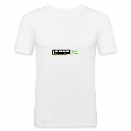 South Coast Bus Preservation Society Logo - Men's Slim Fit T-Shirt