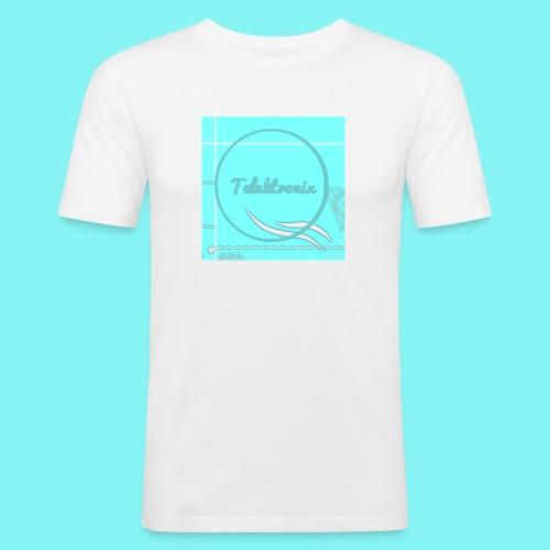 Telektronix Special Edition Logo - Men's Slim Fit T-Shirt