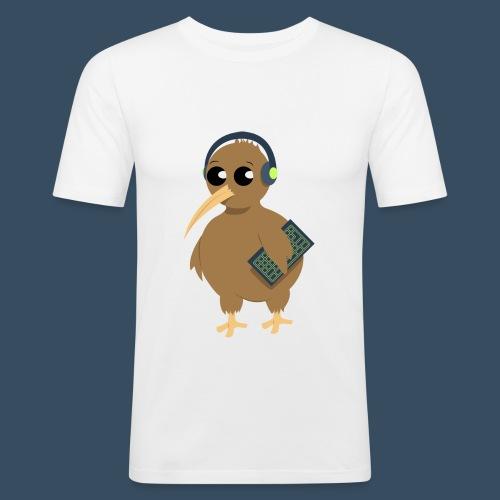 QIWEE Sans ombre - T-shirt près du corps Homme