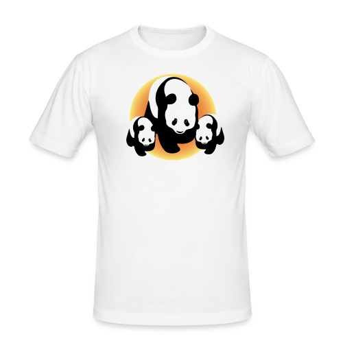 Chineese Panda's - slim fit T-shirt