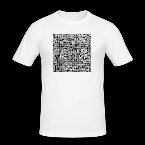 324 - Männer Slim Fit T-Shirt