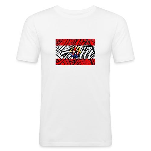 Atiu poly drapeau - Tee shirt près du corps Homme