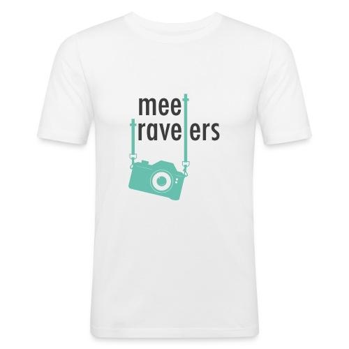 meet-travelers - T-shirt près du corps Homme
