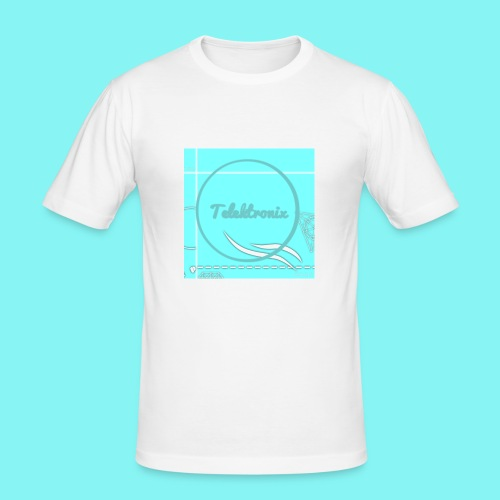 Telektronix Special Edition Logo - Men's Slim Fit T-Shirt