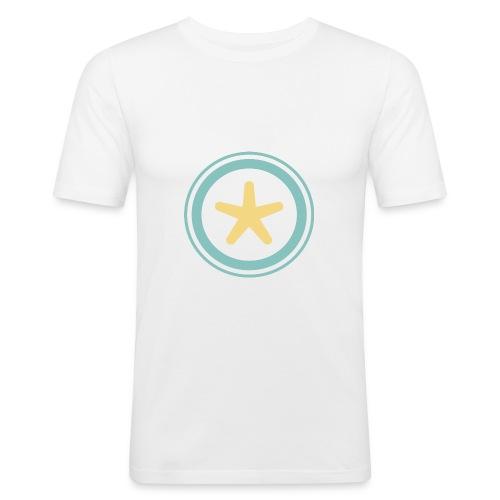El mundo a través de un visor - Camiseta ajustada hombre