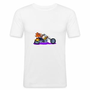 Bike 1 - Men's Slim Fit T-Shirt