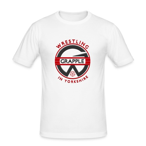 Grapple logo Tee - Men's Slim Fit T-Shirt
