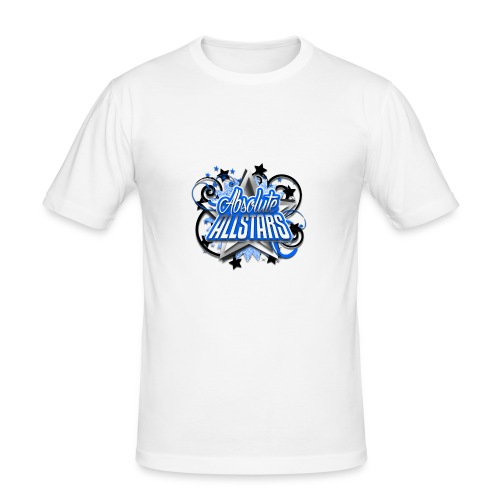 Absolute Allstars Logo - Men's Slim Fit T-Shirt