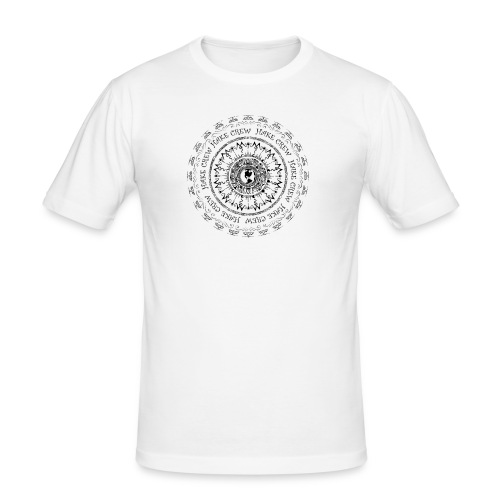 hakemandala - Obcisła koszulka męska