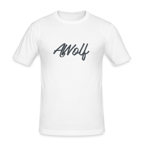 Sign AJWolf - Men's Slim Fit T-Shirt