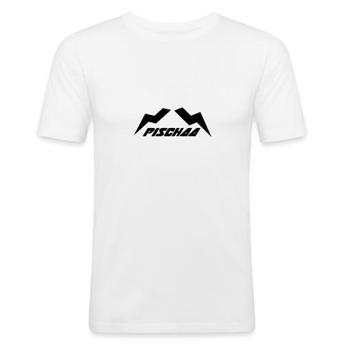 Pischaa V1 black - Männer Slim Fit T-Shirt