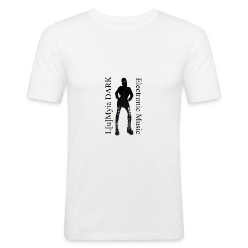 L[u]Myia Dark Electronic Music - T-shirt près du corps Homme