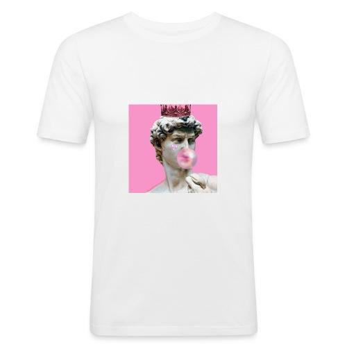 pink god - Obcisła koszulka męska
