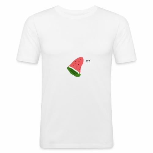 La pastèque - T-shirt près du corps Homme