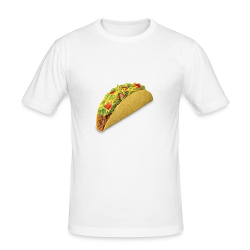 Taco is life - Slim Fit T-skjorte for menn